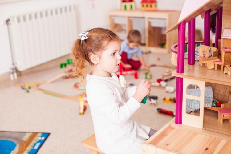 Puppenhaus Holz kaufen